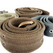 Material belts - Stock Photo