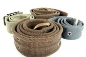 Material belts — Stock Photo