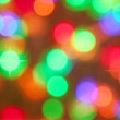 Colourful glowing lights — Stock Photo
