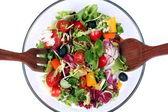 Fresh salad mix — Stock Photo