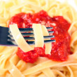 Royalty-Free Stock Photo: Pasta with tomato sauce