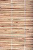 Wooden bamboo mat — Stock Photo