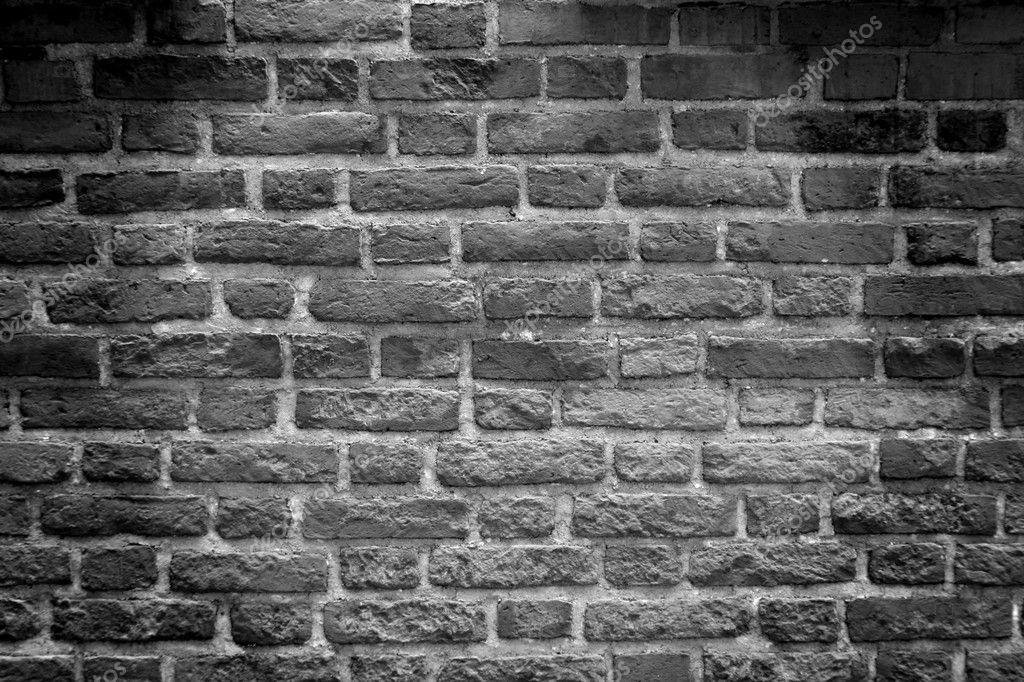 Black White Tone Brick Wall Stock Photo Tkemot 2318631