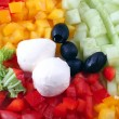 Mix salad ingredients - ストック写真