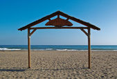Seaside Gates — Stock Photo