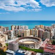 Malaga cityscape - Stock Photo