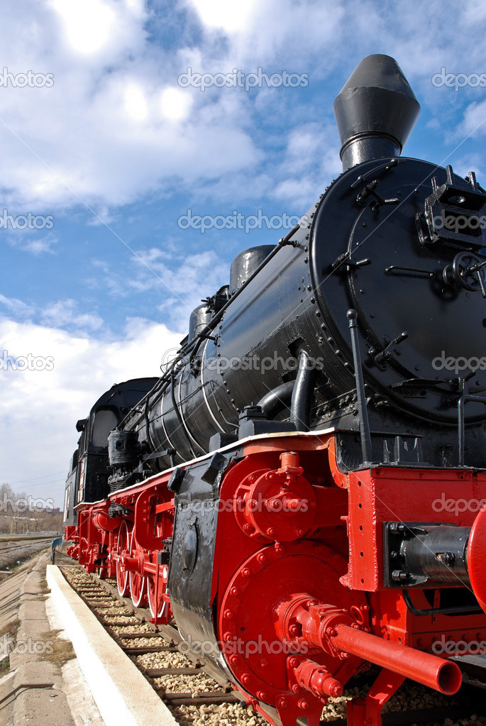 Steam Locomotive — Stock Photo #2471159