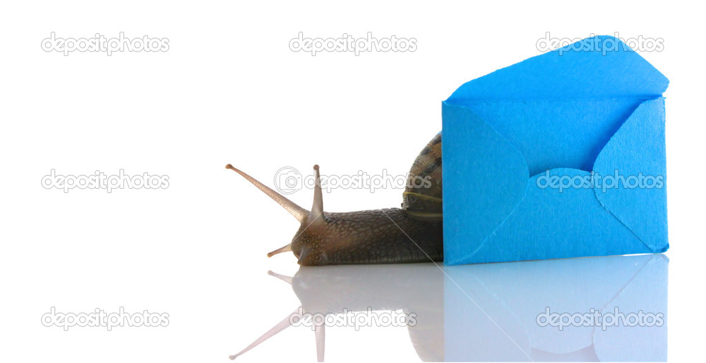 Snail Mail  Stock Photo #2385326