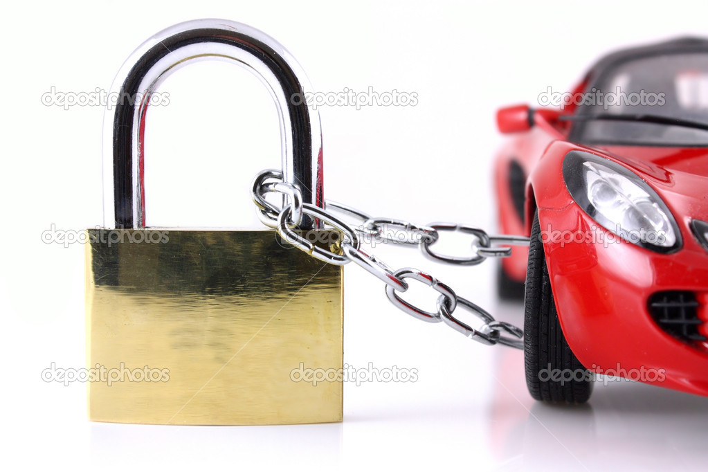 Vehicle security concept  Stock Photo #2411154