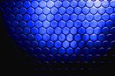 Bosses de cercle bleu électrique — Photo