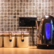 Stock Photo: Kitchen worktop and kettle