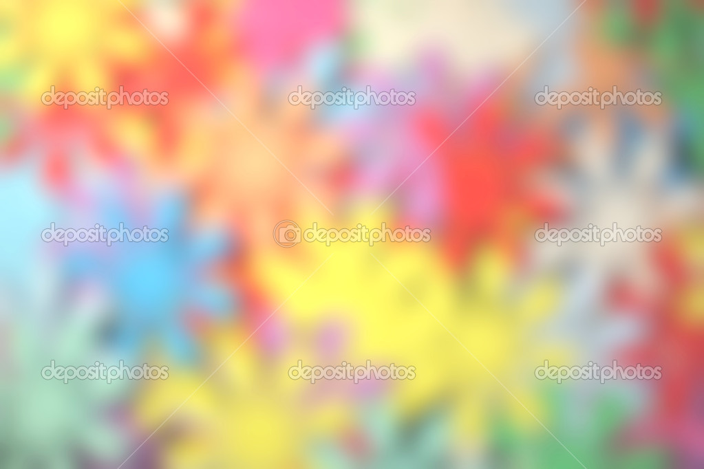 Blurred colour splats — Stock Photo #2523307