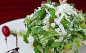 Gourmet Caesar Salad — Stock Photo