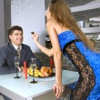 Appointment at restaurant — Foto de Stock