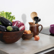 Still life in the kitchen — Stock Photo