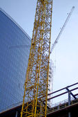 Construction of big building — Stock Photo