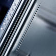 Metal texture with rivets — Stock Photo #2435640