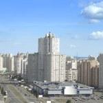 East district of kiev city — Stock Photo
