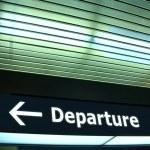 Departure — Stock Photo