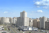 East district of kiev city — Stock Photo
