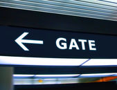 Gate — Stock Photo