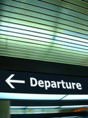 Departure — Stock Photo