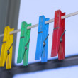 Clothes-peg - Stock Photo