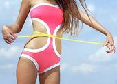 Fitness kropp — Stockfoto