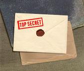 Top secret envelope — Stock Photo