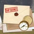 Royalty-Free Stock Photo: Top secret documents
