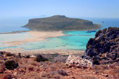 Outskirts of Crete where is pink sands — Stock Photo