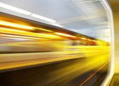 Sensação de velocidade — Foto Stock