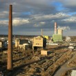 Stock Photo: Industrial zone