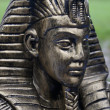 Pharaohs head - Stock Photo
