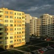 Panel houses. Housing estate — Stock Photo