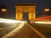Arc of victory in Paris — Stock Photo