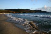 Seashore in the evening — Stock Photo