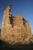 Ruin of stony house — Stock Photo