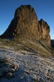 Dolomite in the morning sun — Stock Photo