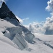 Mountain glacier scenery — Stock Photo #2305922