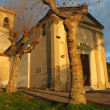 Old italian chapel — Stock Photo