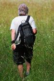 Senior hiker — Stock Photo