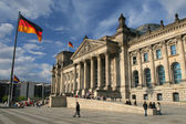 Reichstag - Berlin, Germany — Stock Photo