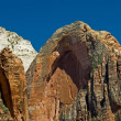 Arch at Zion National Park, Utah - Stock Photo