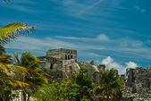Tulum ruins — Stock Photo