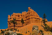 Red rock formation in utah — Stock Photo
