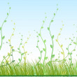 Royalty-Free Stock Vector Image: Green grass