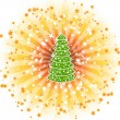 Royalty-Free Stock Vector Image: Shine tree