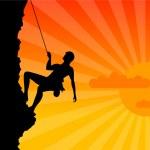 Climber — Stock Vector #2503084