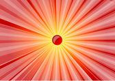 Soleil abstrait — Vecteur